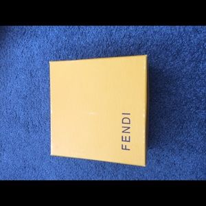 Fendi jewelry box